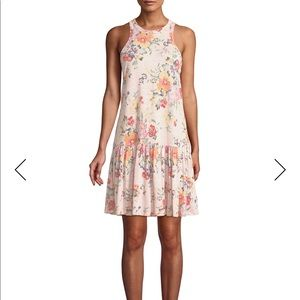 Rebecca Taylor Sleeveless Floral Jersey Dress